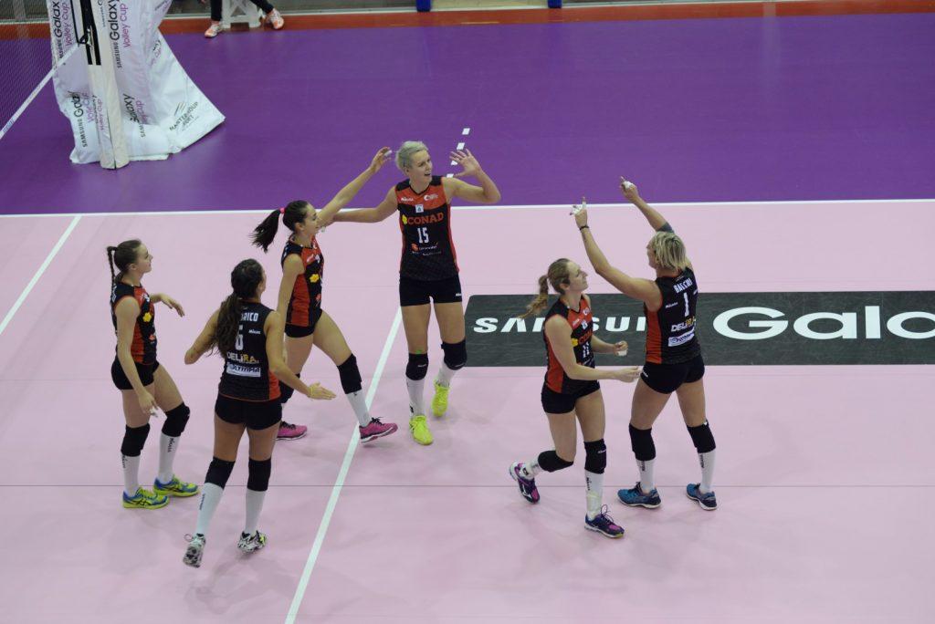 Al termine di un match infinito l'Olimpia Teodora sconfigge il Club Italia al Tie Break