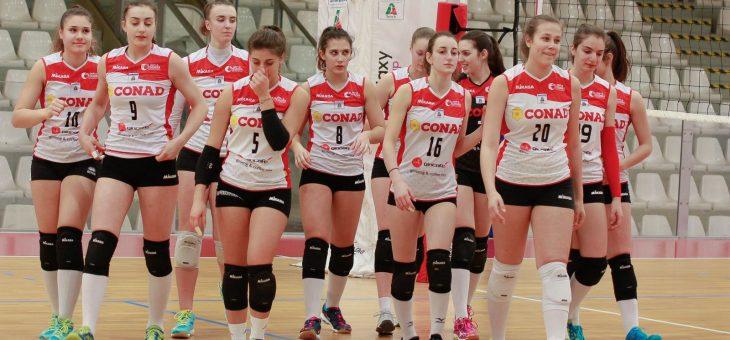 Termina a Modena la stagione della Conad Olimpia Teodora Ravenna Under 18