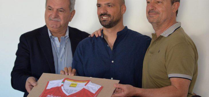 Presentato ufficialmente nella sede dell'Olimpia Teodora Ravenna l'allenatore Nello Caliendo