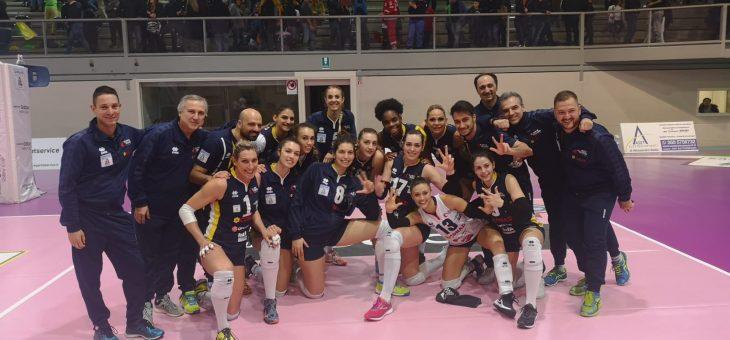 Una straordinaria Conad Ravenna conquista tre punti d'oro ad Orvieto e resta in corsa per i Playoff