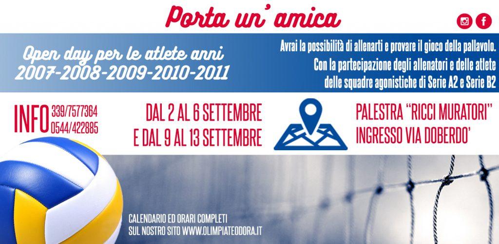 Calendario Settembre 2007.Open Day 2019 2020 Olimpia Teodora