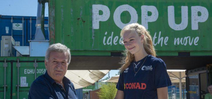 Ravenna accoglie Dominika Strumilo: la belga è stata presentata oggi al Darsena Pop Up