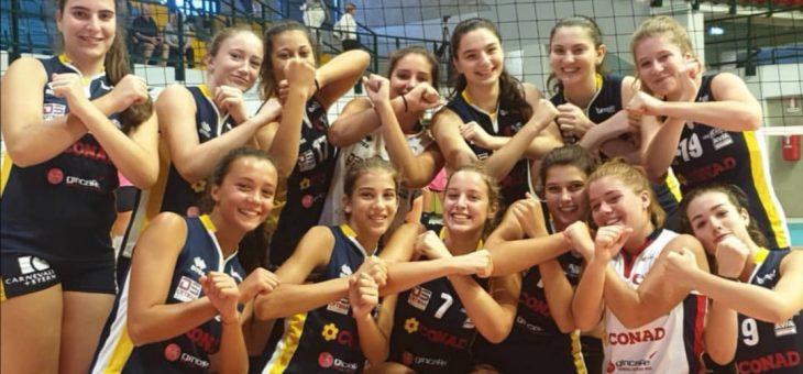 L'Olimpia Teodora Under 16 sorprende alla Girl League: è sesta tra i top team italiani