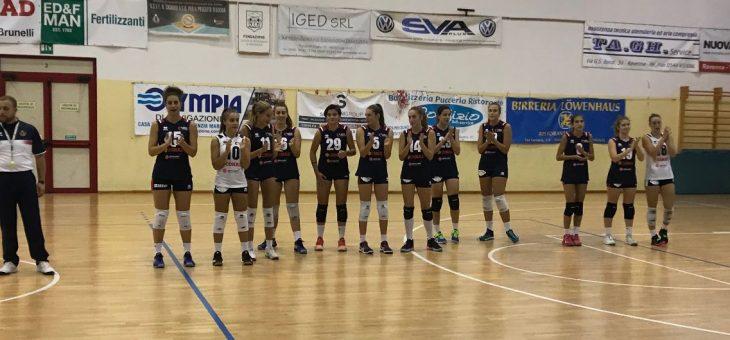 Doppia sconfitta all'esordio in campionato per le squadre di Serie B2 e Serie D della Conad Olimpia Teodora, che pagano l'inesperienza e non portano a casa punti.