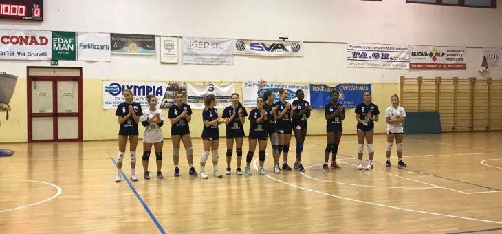 Netta sconfitta contro la capolista per la Serie D, Under 18 Regionale battuta al tie break