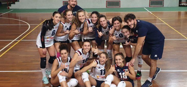 Vittoria in rimonta fondamentale ad Ancona per la squadra di Serie B2 dell'Olimpia Teodora