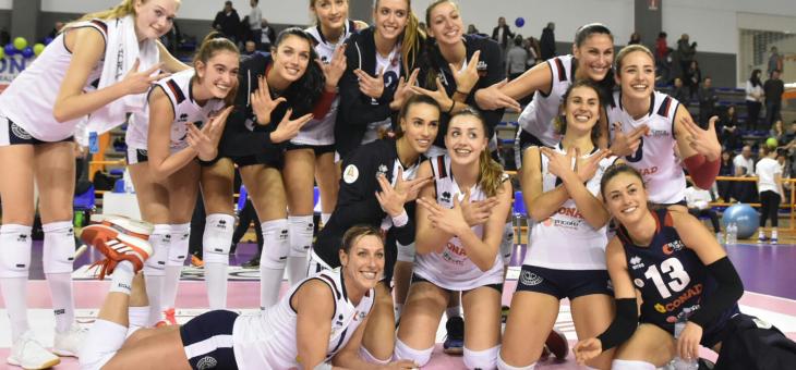 A Montecchio la Conad torna al successo e conquista l'accesso alla Pool Promozione e alla Coppa Italia