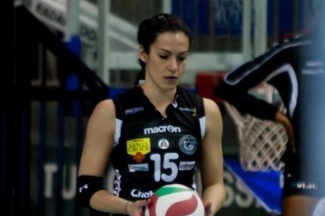La nuova palleggiatrice della Conad è Ilaria Angelelli