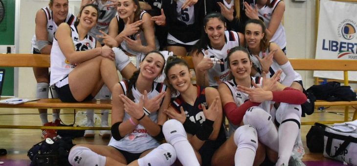 Una grande Conad apre la Pool Promozione con una vittoria 3-1 a Martignacco