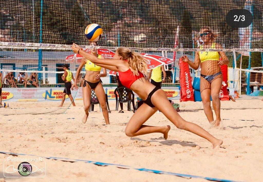 Sara Fontemaggi convocata in Nazionale juniores di beach volley