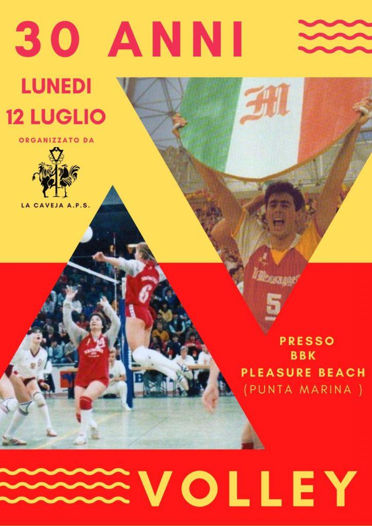 Un evento benefico per celebrare i 30 anni dal doppio scudetto nel volley ravennate
