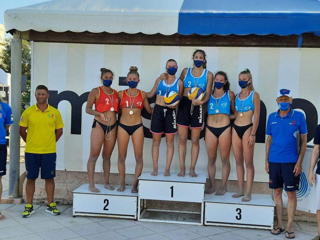 Beach Volley. Nicole Piomboni vince la finale regionale u18 di Misano