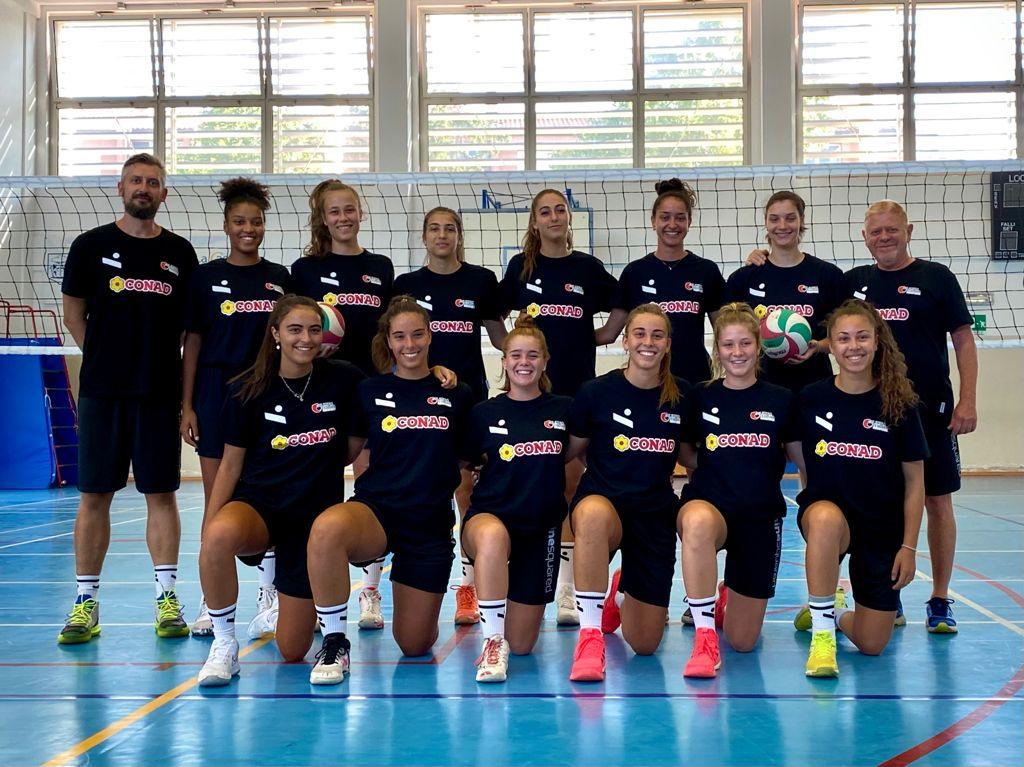 Partita anche la stagione della squadra di Serie B2 della Conad Olimpia Teodora