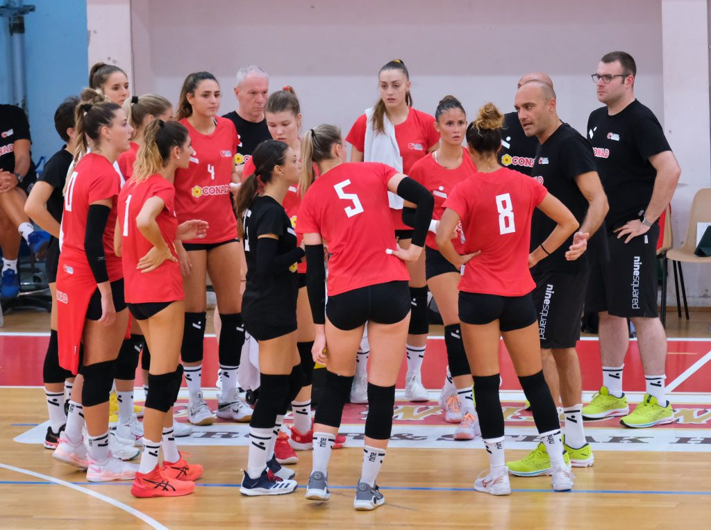 Comincia ufficialmente a Macerata la stagione dell'Olimpia Teodora