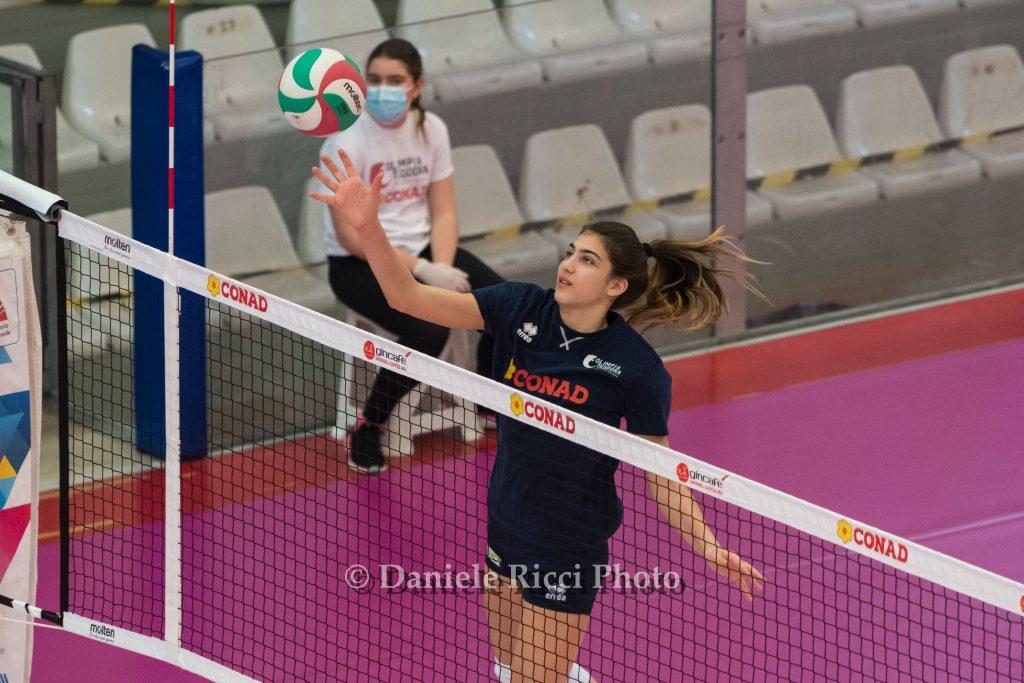 Nicole Piomboni convocata per lo stage della nazionale giovanile