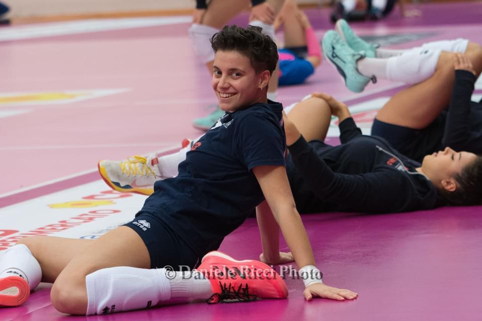 Greta Monaco cambia ruolo ma resta a Ravenna: sarà il secondo libero della Conad