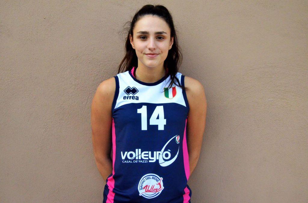 La giovanissima Chiara Salvatori completa il reparto centrali della Conad